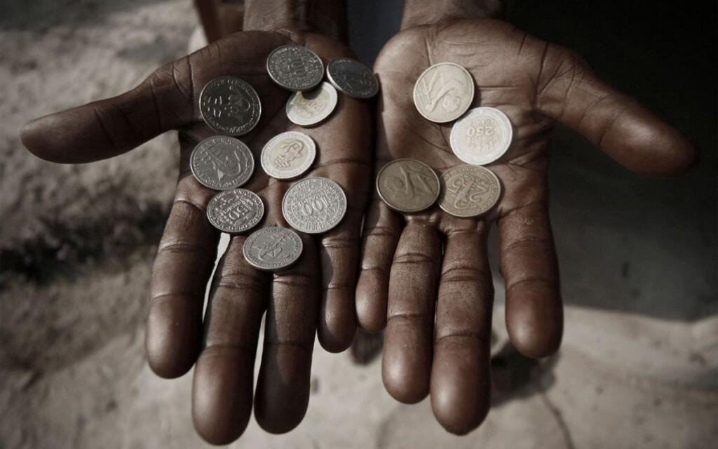 世界にはびこる絶対的貧困